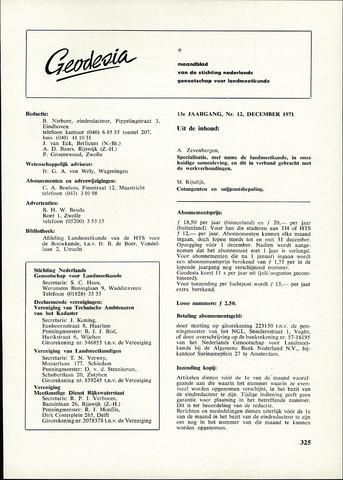 (NGT) Geodesia 1971-12-01