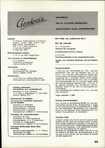 (NGT) Geodesia 1968-05-01