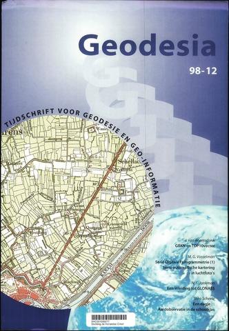 (NGT) Geodesia 1998-12-01