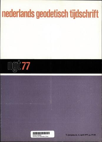 Nederlands Geodetisch Tijdschrift (NGT) 1977-04-01