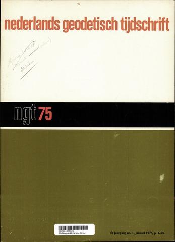 Nederlands Geodetisch Tijdschrift (NGT) 1975-01-01