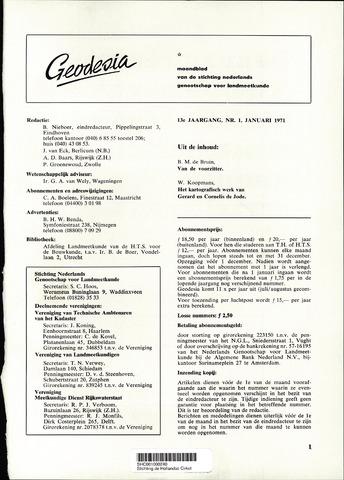(NGT) Geodesia 1971-01-01
