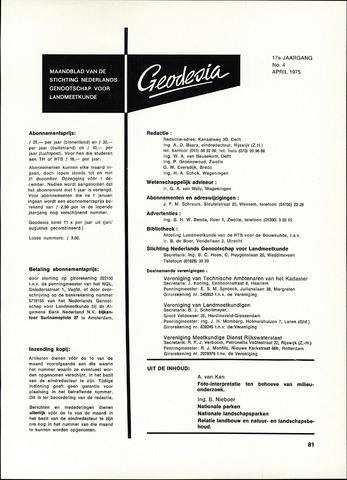 (NGT) Geodesia 1975-04-01