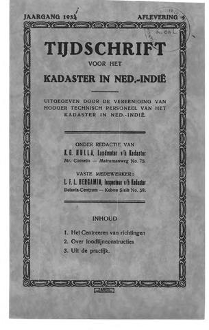 Tijdschrift voor het Kadaster in Ned.-Indië 1931-10-01
