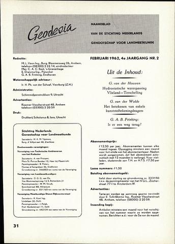 (NGT) Geodesia 1962-02-01