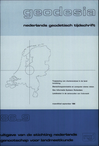 (NGT) Geodesia 1986-09-01