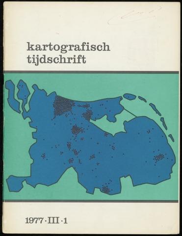 Kartografisch Tijdschrift 1977