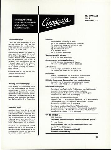 (NGT) Geodesia 1977-02-01