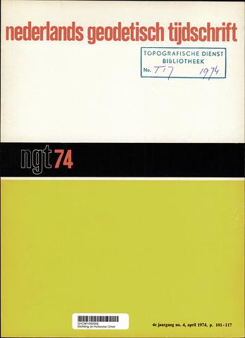 Nederlands Geodetisch Tijdschrift (NGT) 1974-04-01