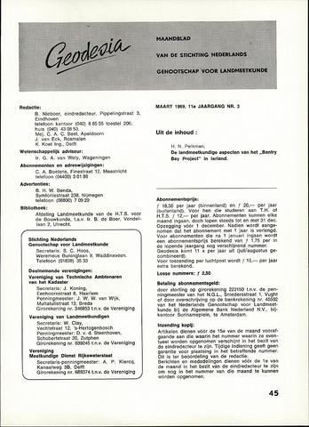 (NGT) Geodesia 1969-03-01