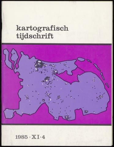 Kartografisch Tijdschrift 1985-10-01