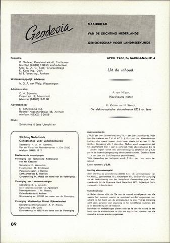 (NGT) Geodesia 1966-04-01