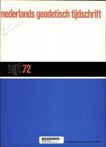 Nederlands Geodetisch Tijdschrift (NGT) 1972-10-01