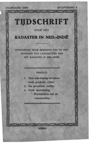 Tijdschrift voor het Kadaster in Ned.-Indië 1934-10-01