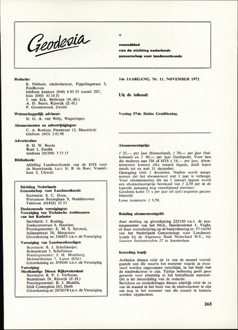 (NGT) Geodesia 1972-11-01