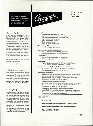 (NGT) Geodesia 1977-04-01