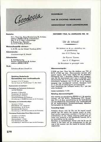 (NGT) Geodesia 1963-10-01