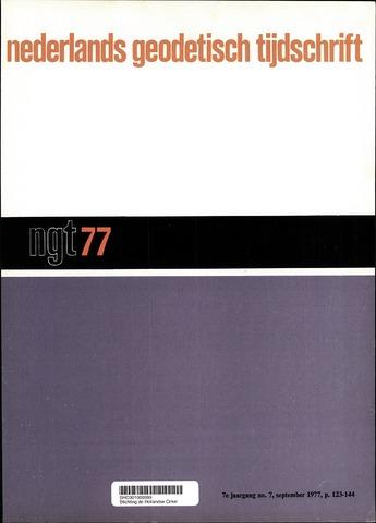Nederlands Geodetisch Tijdschrift (NGT) 1977-09-01