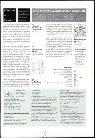(NGT) Geodesia 1995-02-01