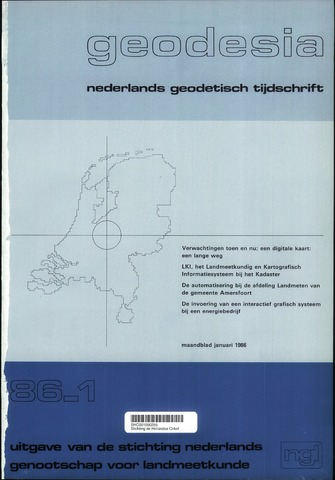(NGT) Geodesia 1986-01-01