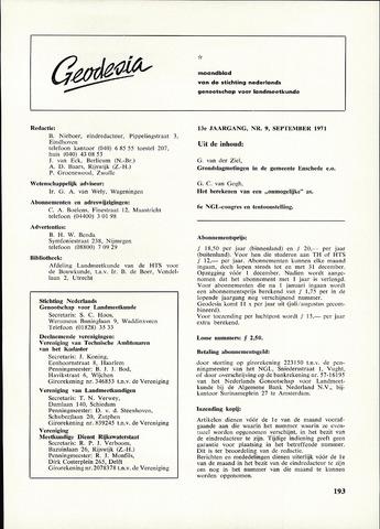 (NGT) Geodesia 1971-09-01