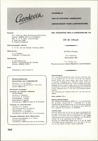 (NGT) Geodesia 1965-07-01