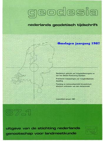 (NGT) Geodesia 1987-12-31