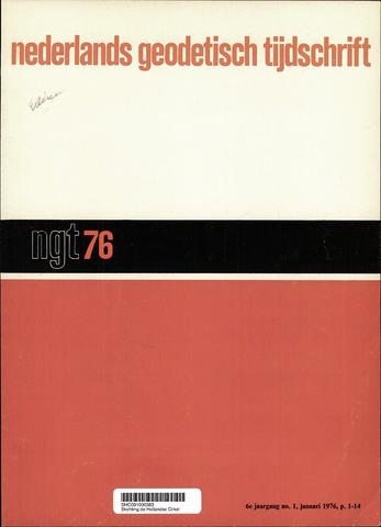 Nederlands Geodetisch Tijdschrift (NGT) 1976