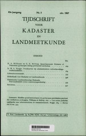 Tijdschrift voor Kadaster en Landmeetkunde (KenL) 1967-10-01