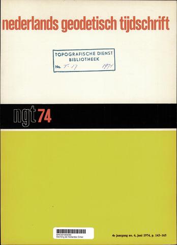 Nederlands Geodetisch Tijdschrift (NGT) 1974-06-01