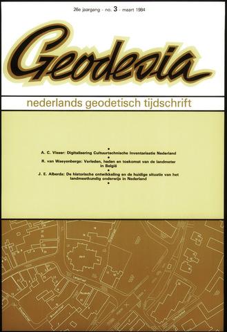 (NGT) Geodesia 1984-03-01