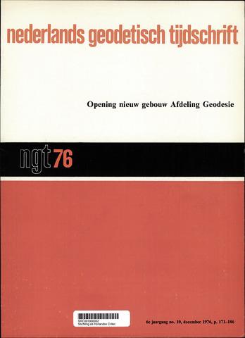 Nederlands Geodetisch Tijdschrift (NGT) 1976-12-01