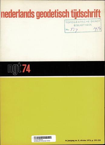 Nederlands Geodetisch Tijdschrift (NGT) 1974-10-01