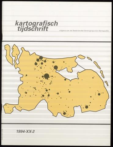 Kartografisch Tijdschrift 1994-04-01