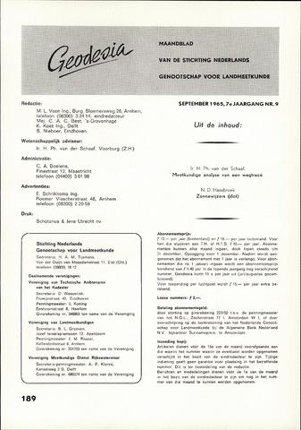 (NGT) Geodesia 1965-09-01