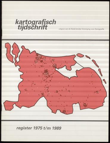 Kartografisch Tijdschrift 1989-12-31
