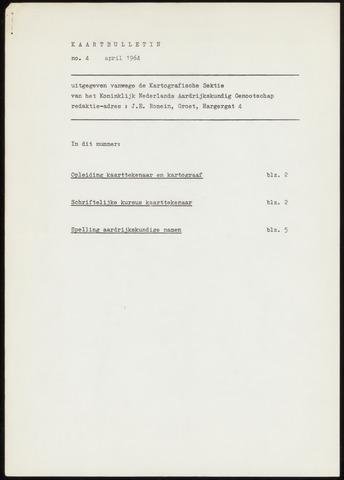 Kaartbulletin 1964