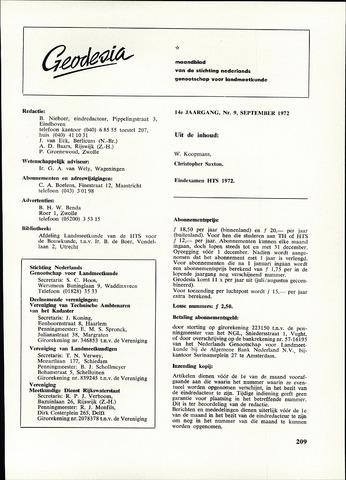 (NGT) Geodesia 1972-09-01
