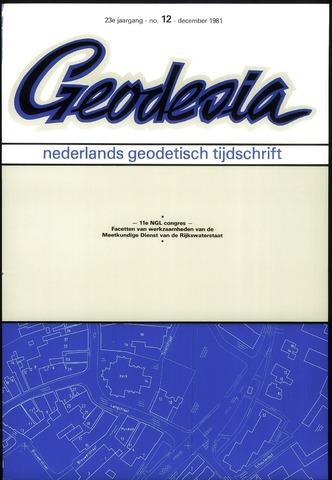 (NGT) Geodesia 1981-12-01