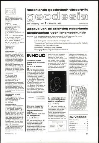 (NGT) Geodesia 1989-02-01