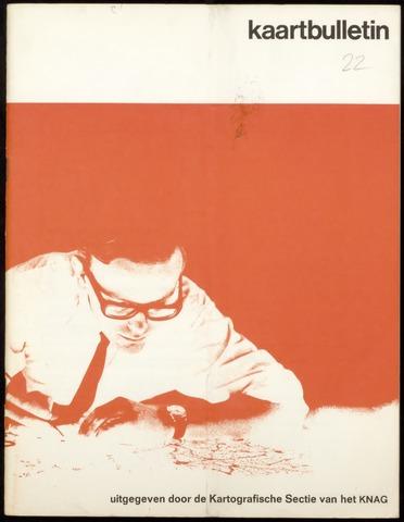 Kaartbulletin 1970