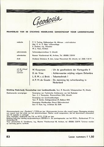 (NGT) Geodesia 1960-05-01