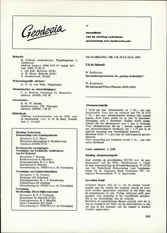 (NGT) Geodesia 1971-07-01