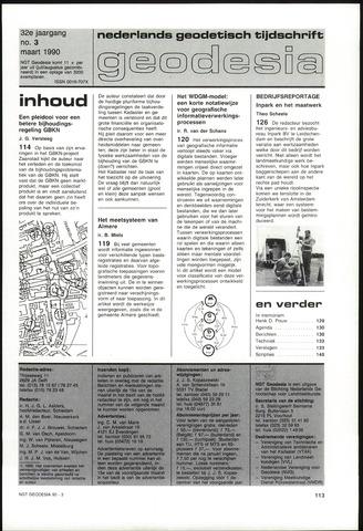 (NGT) Geodesia 1990-03-01