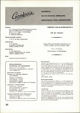(NGT) Geodesia 1966-02-01