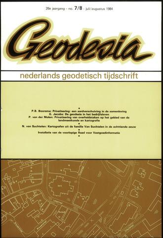 (NGT) Geodesia 1984-07-01