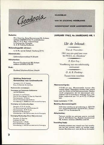 (NGT) Geodesia 1962-01-01
