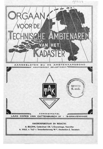 Orgaan der Vereeniging TAK 1941-12-01