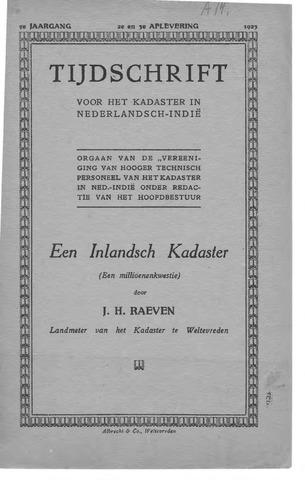 Tijdschrift voor het Kadaster in Ned.-Indië 1923-04-01