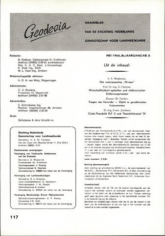 (NGT) Geodesia 1966-05-01